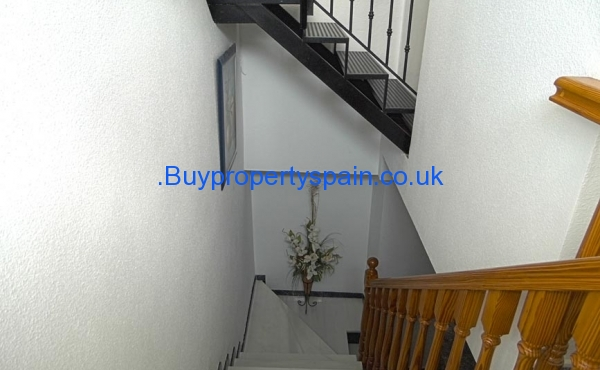 Stairs 2nd Floor looking down to first floor